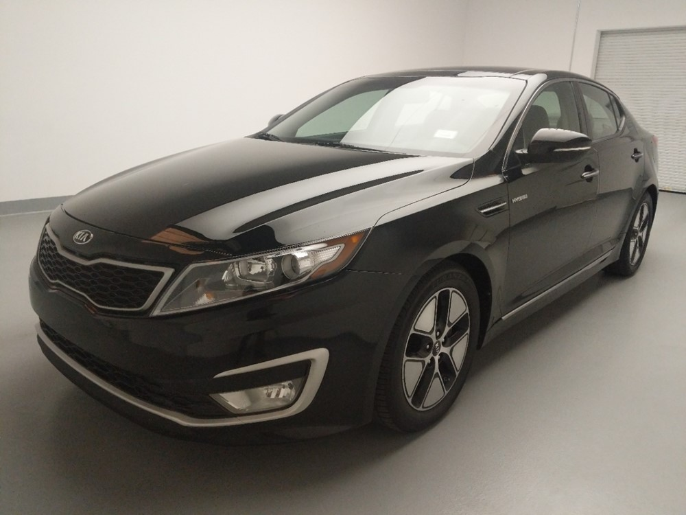 Used 2013 Kia Optima Driver Front Bumper