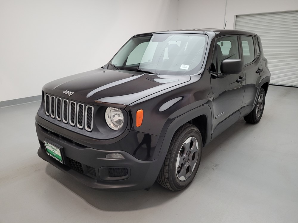 Used 2015 Jeep Renegade Driver Front Bumper