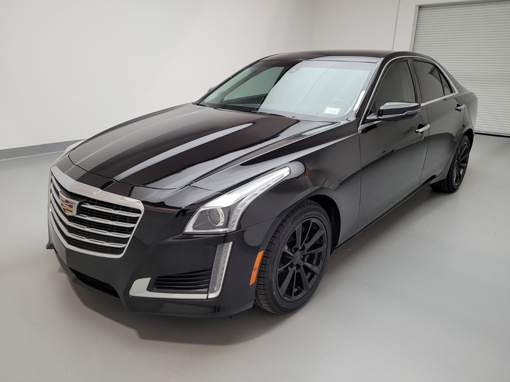 Used 2017 Cadillac CTS Driver Front Bumper