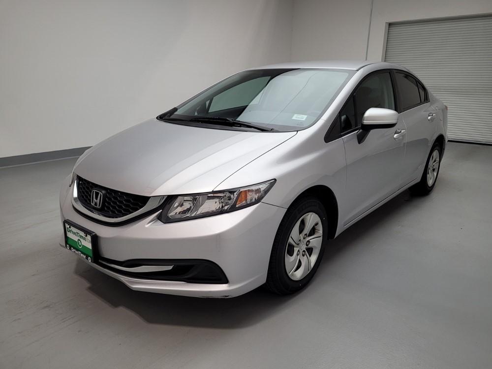 Used 2015 Honda Civic Driver Front Bumper