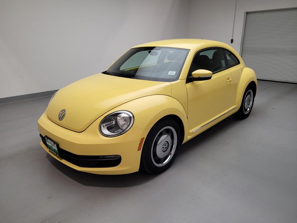 Used 2012 Volkswagen Beetle Driver Front Bumper