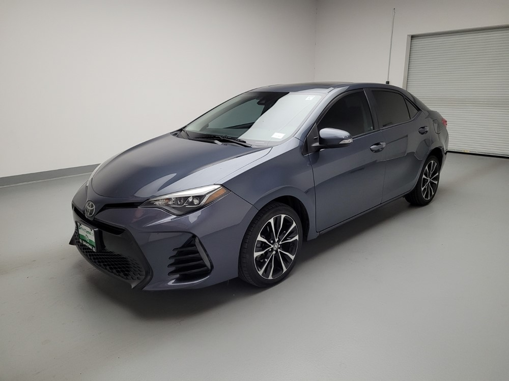 Used 2017 Toyota Corolla Driver Front Bumper