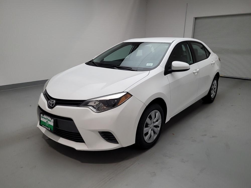Used 2016 Toyota Corolla Driver Front Bumper