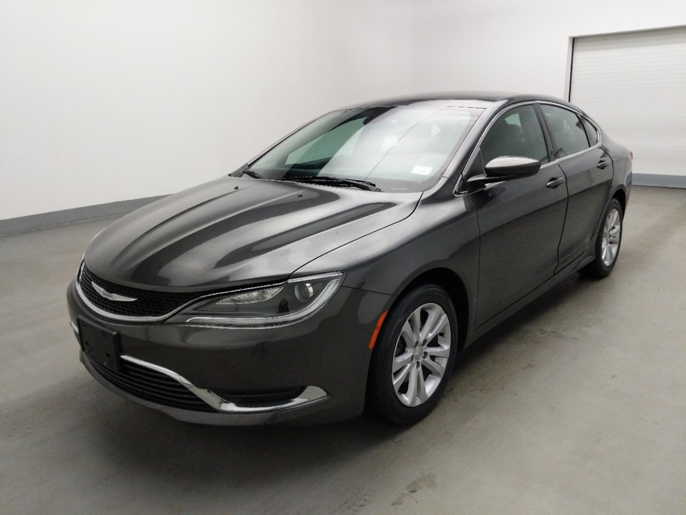 Used 2016 Chrysler 200 Driver Front Bumper