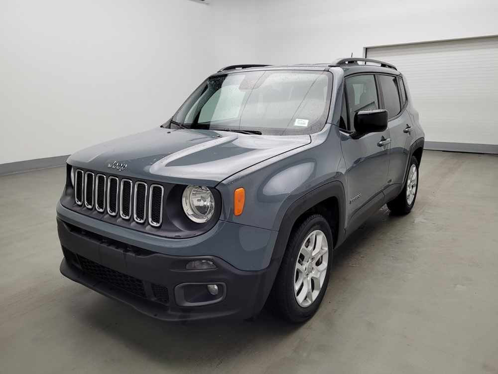 Used 2018 Jeep Renegade Driver Front Bumper