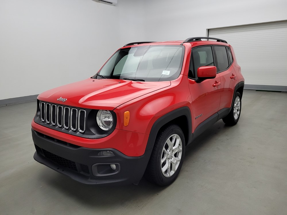 Used 2017 Jeep Renegade Driver Front Bumper