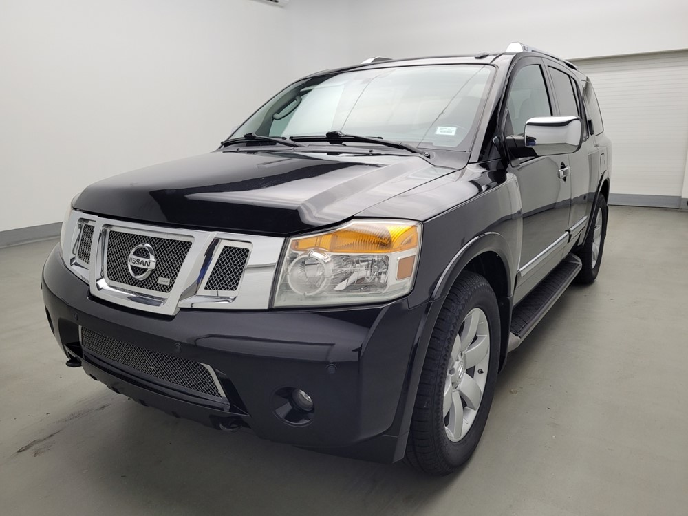 Used 2012 Nissan Armada Driver Front Bumper