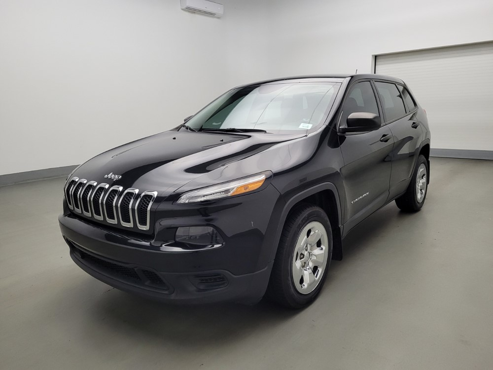 Used 2014 Jeep Cherokee Driver Front Bumper