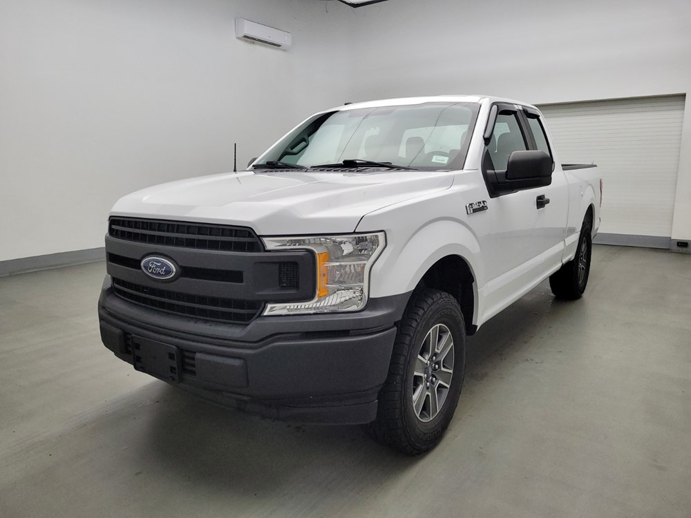 Used 2018 Ford F-150 Driver Front Bumper