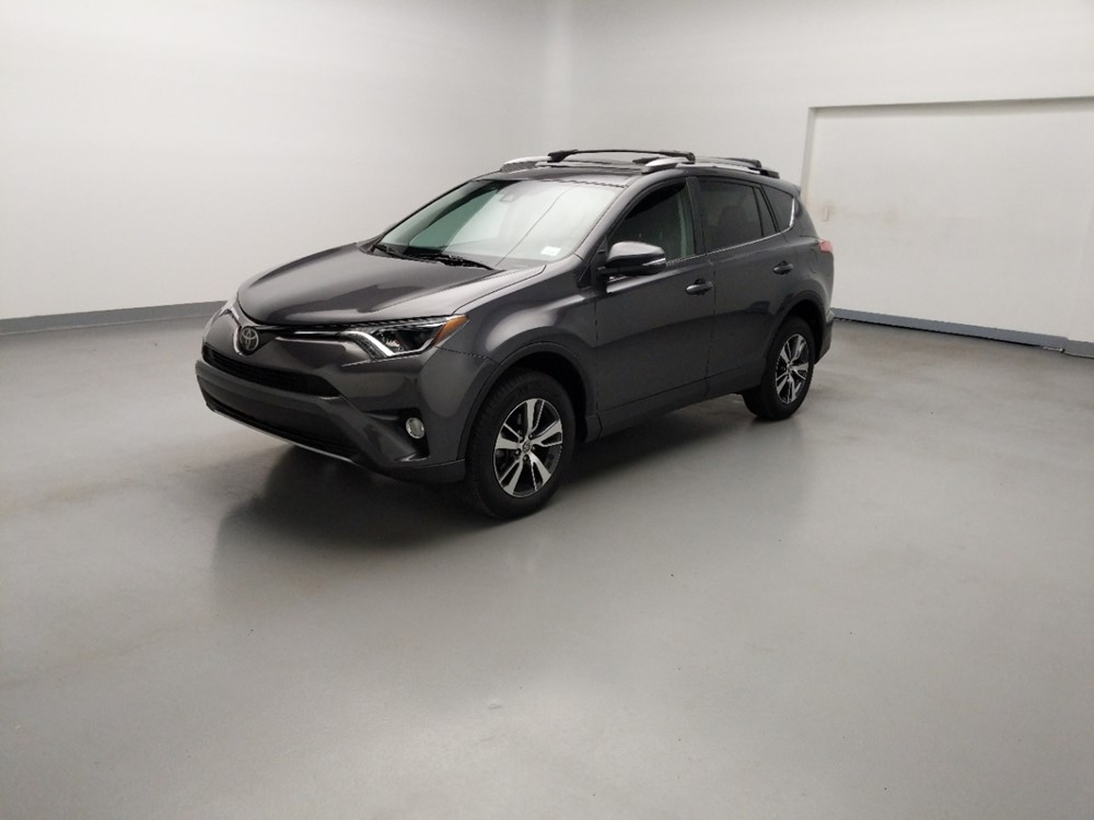 Used 2017 Toyota RAV4 Driver Front Bumper