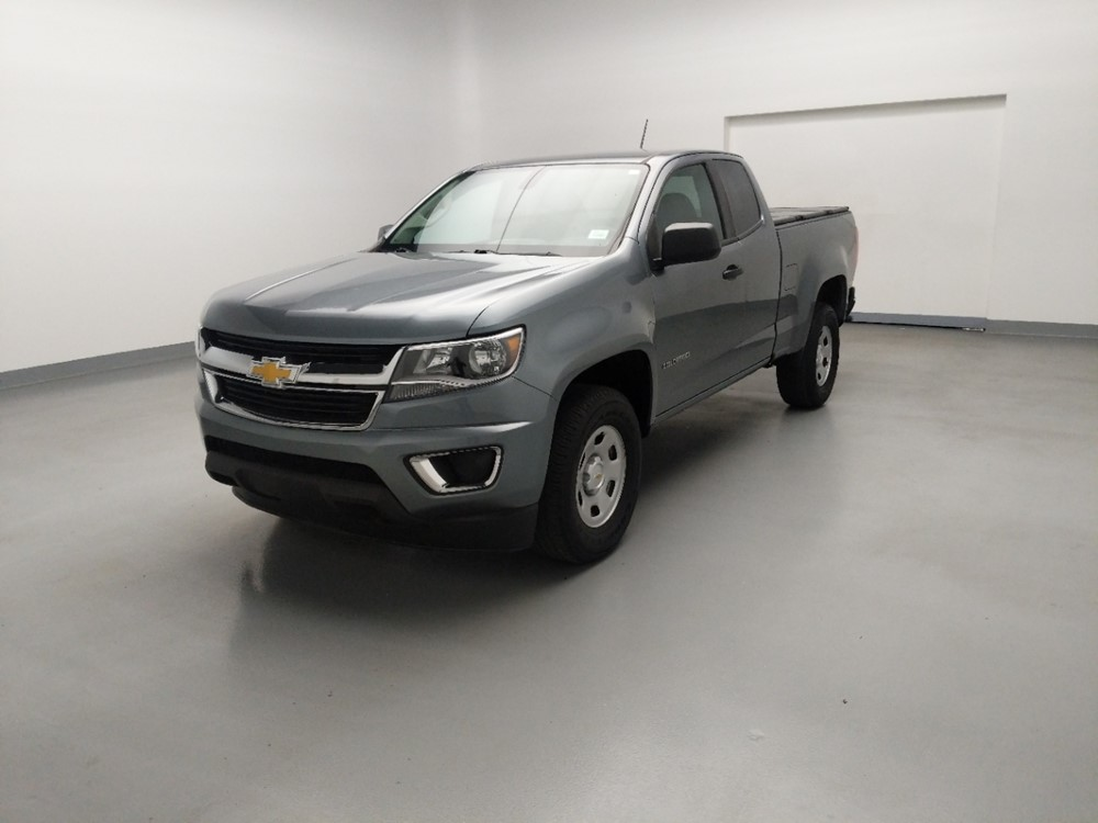 Used 2018 Chevrolet Colorado Driver Front Bumper