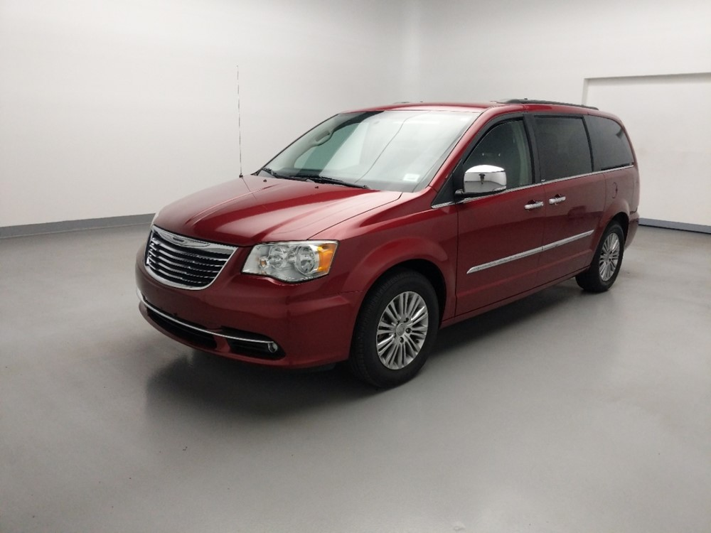 Used 2013 Chrysler Town and Country Driver Front Bumper