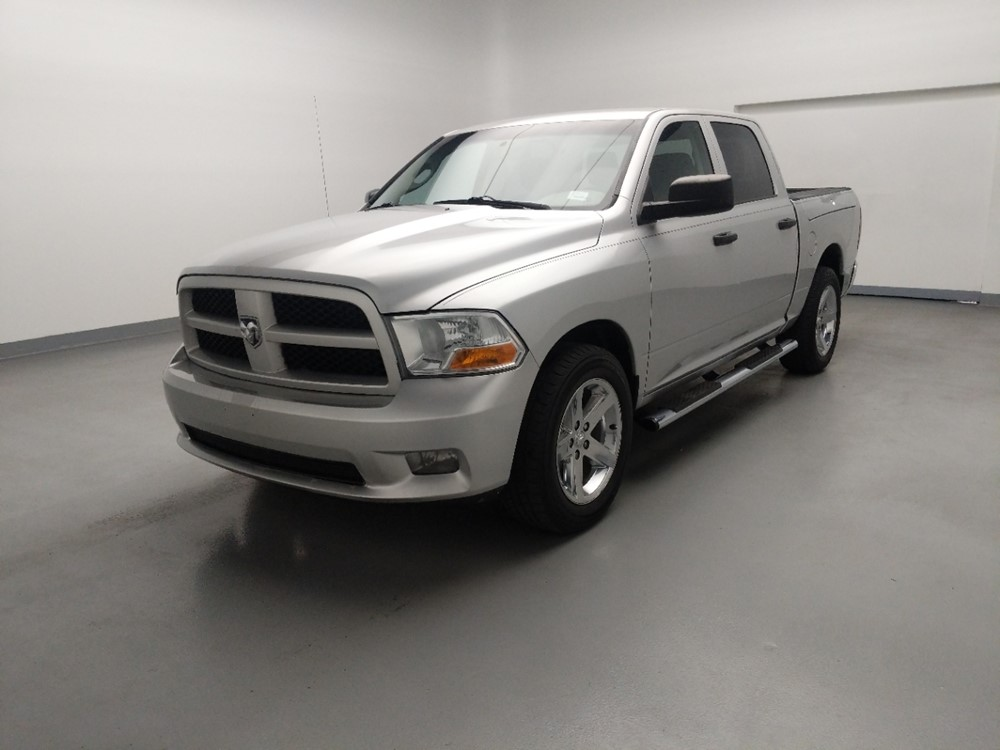 Used 2012 Dodge Ram 1500 Driver Front Bumper