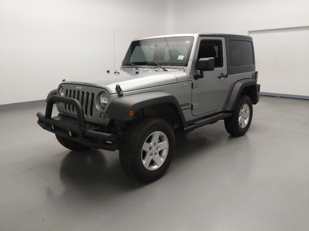 Used 2015 Jeep Wrangler Driver Front Bumper