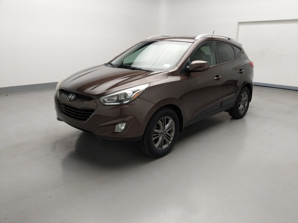 Used 2014 Hyundai Tucson Driver Front Bumper