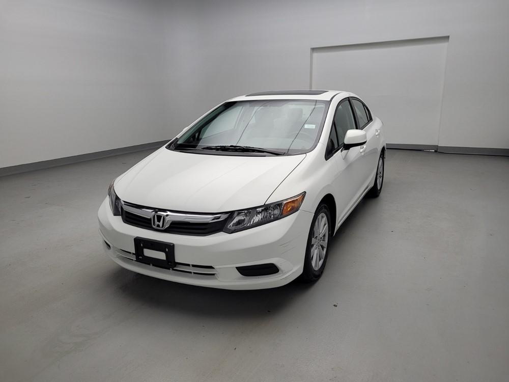 Used 2012 Honda Civic Driver Front Bumper