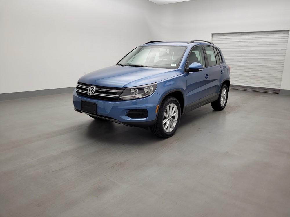 Used 2018 Volkswagen Tiguan Driver Front Bumper