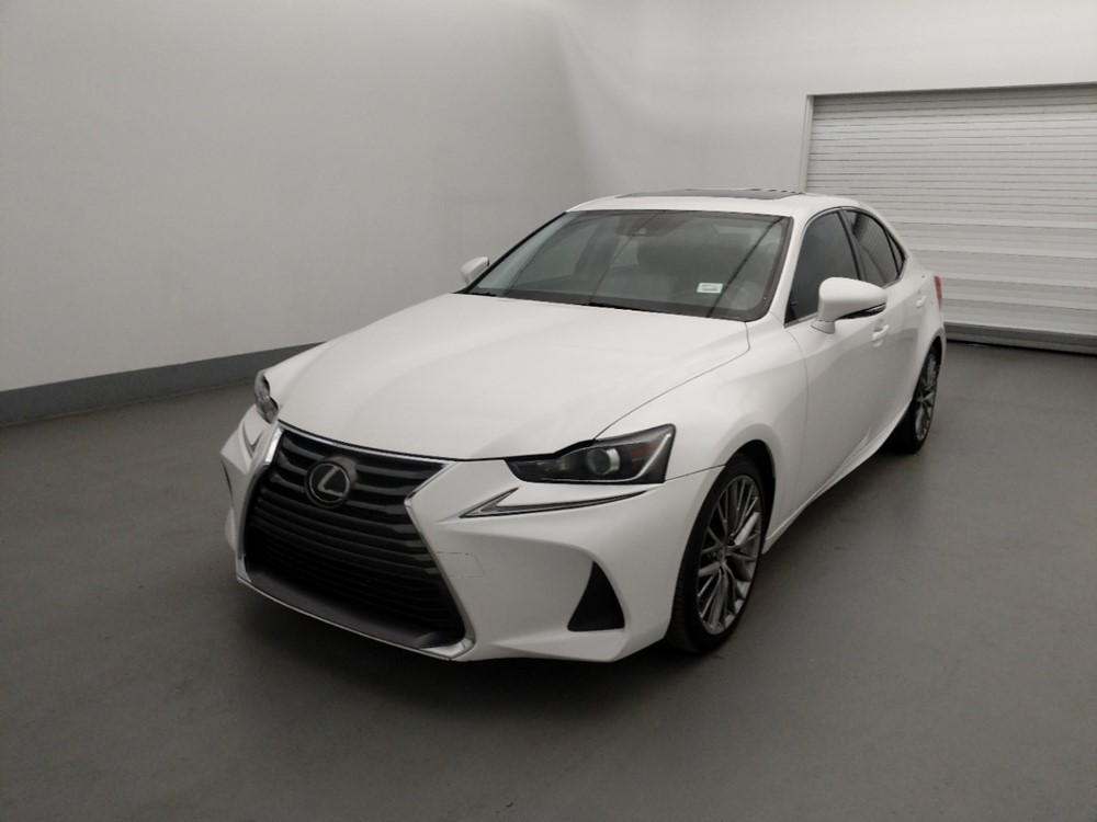 Used 2017 Lexus IS 200t Driver Front Bumper