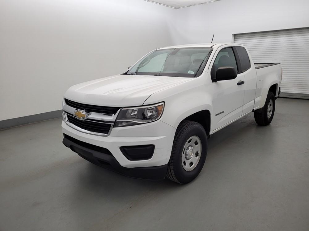 Used 2016 Chevrolet Colorado Driver Front Bumper