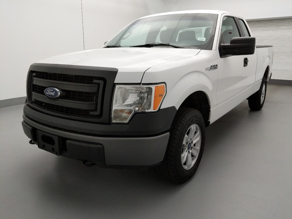 Used 2013 Ford F-150 Driver Front Bumper
