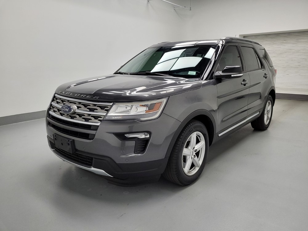 Used 2018 Ford Explorer Driver Front Bumper
