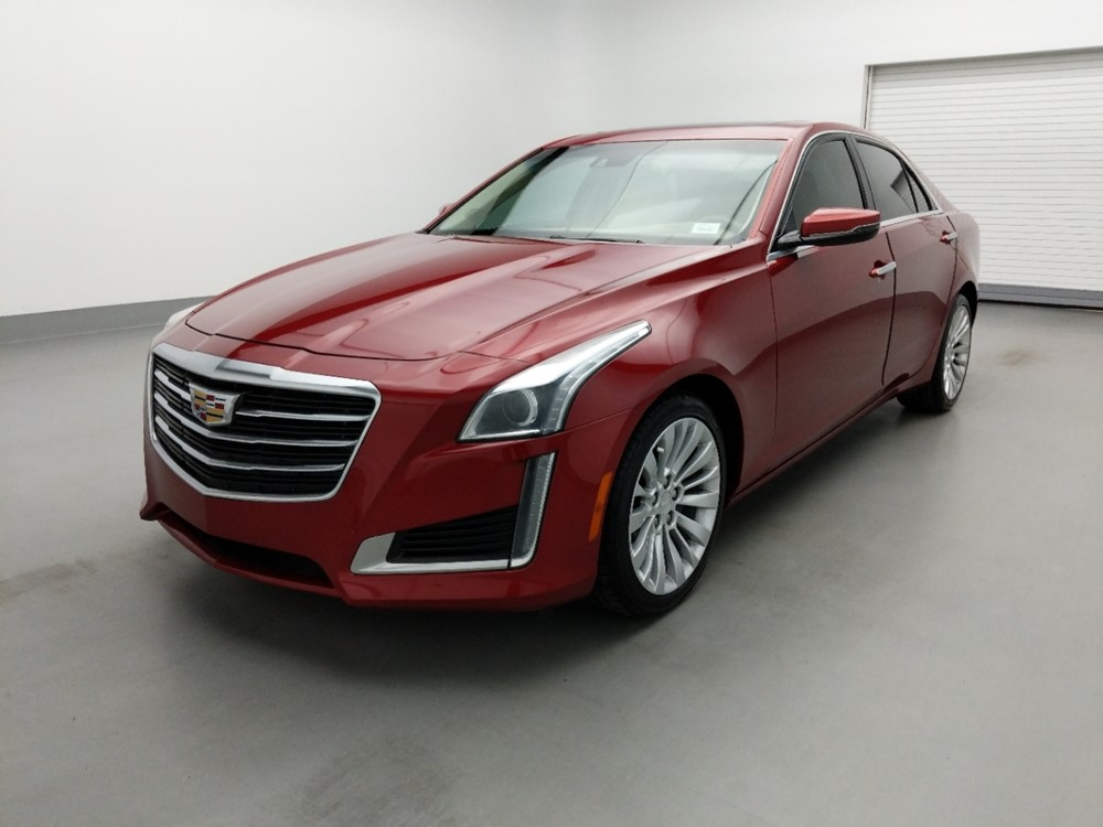 Used 2016 Cadillac CTS Driver Front Bumper