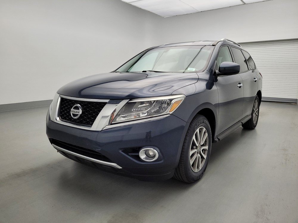 Used 2015 Nissan Pathfinder Driver Front Bumper