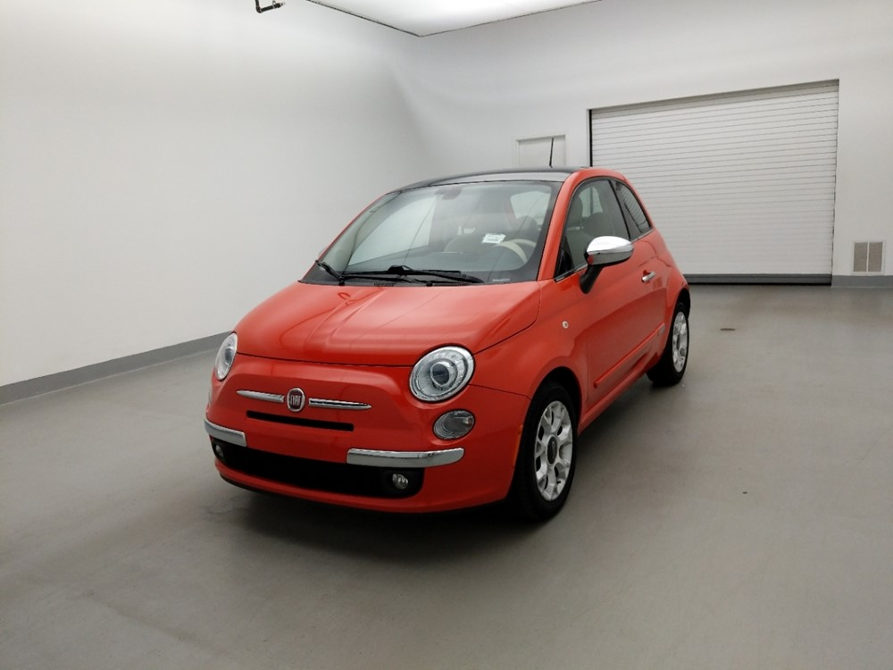 Used 2017 FIAT 500 Driver Front Bumper