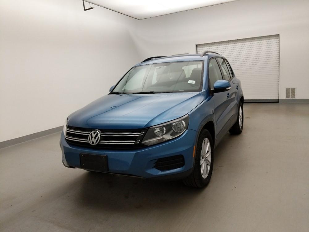 Used 2017 Volkswagen Tiguan Driver Front Bumper
