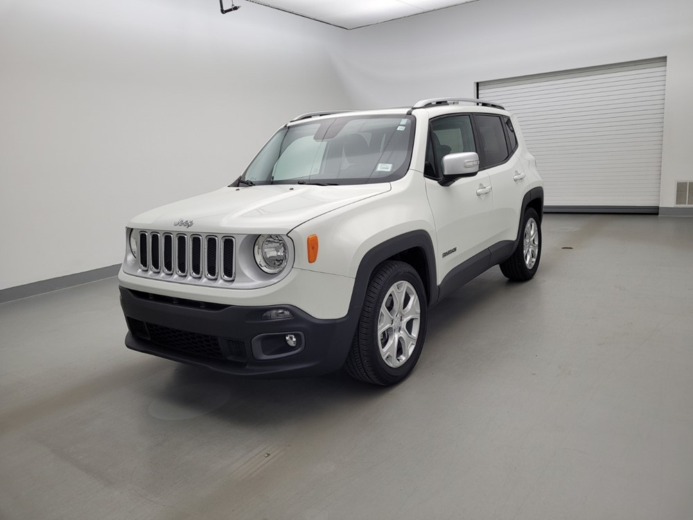 Used 2016 Jeep Renegade Driver Front Bumper