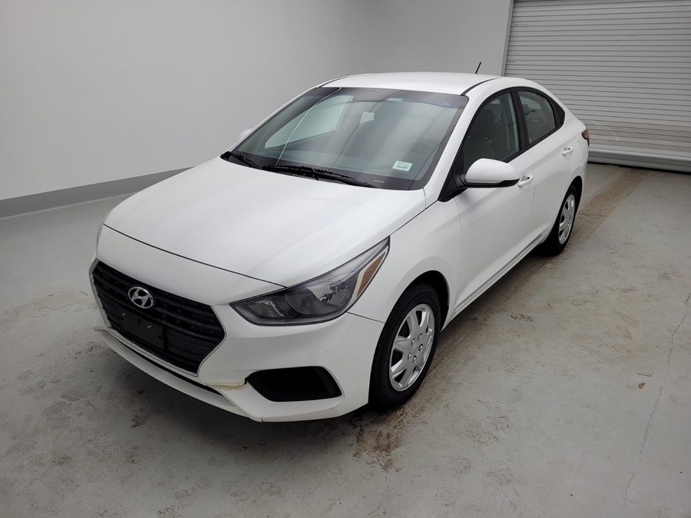 Used 2018 Hyundai Accent Driver Front Bumper