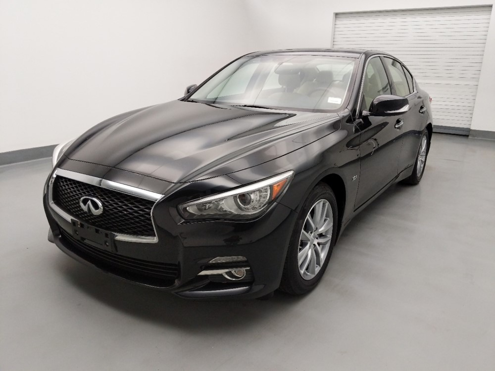 Used 2017 INFINITI Q50 Driver Front Bumper