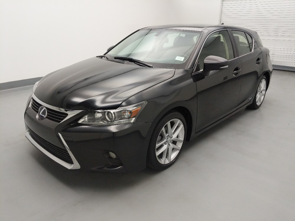 Used 2017 Lexus CT 200h Driver Front Bumper
