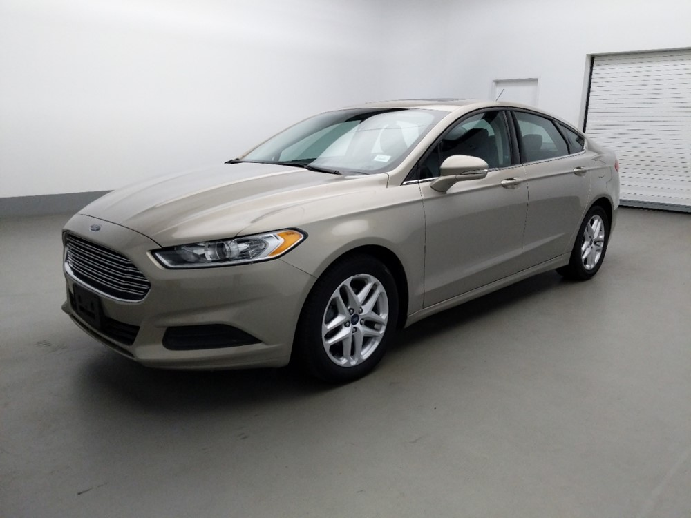Used 2016 Ford Fusion Driver Front Bumper