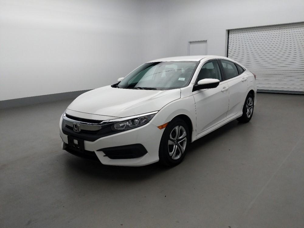 Used 2017 Honda Civic Driver Front Bumper