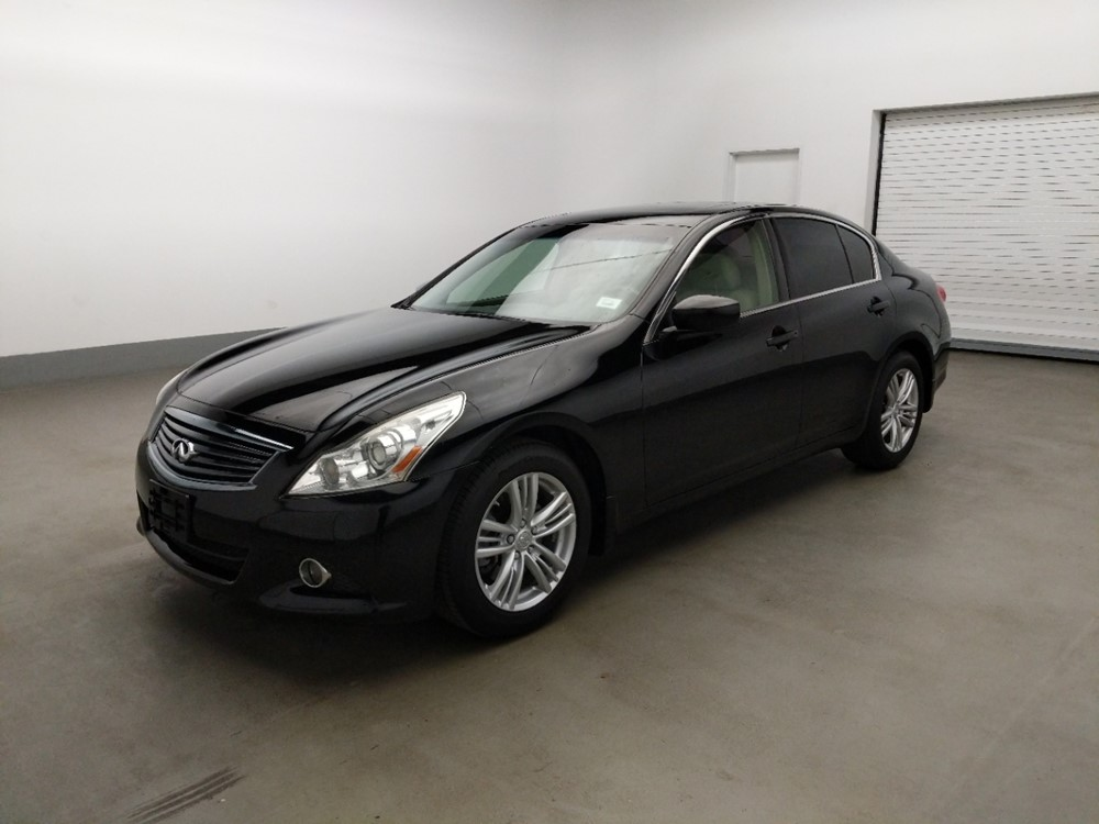 Used 2012 INFINITI G37 Driver Front Bumper