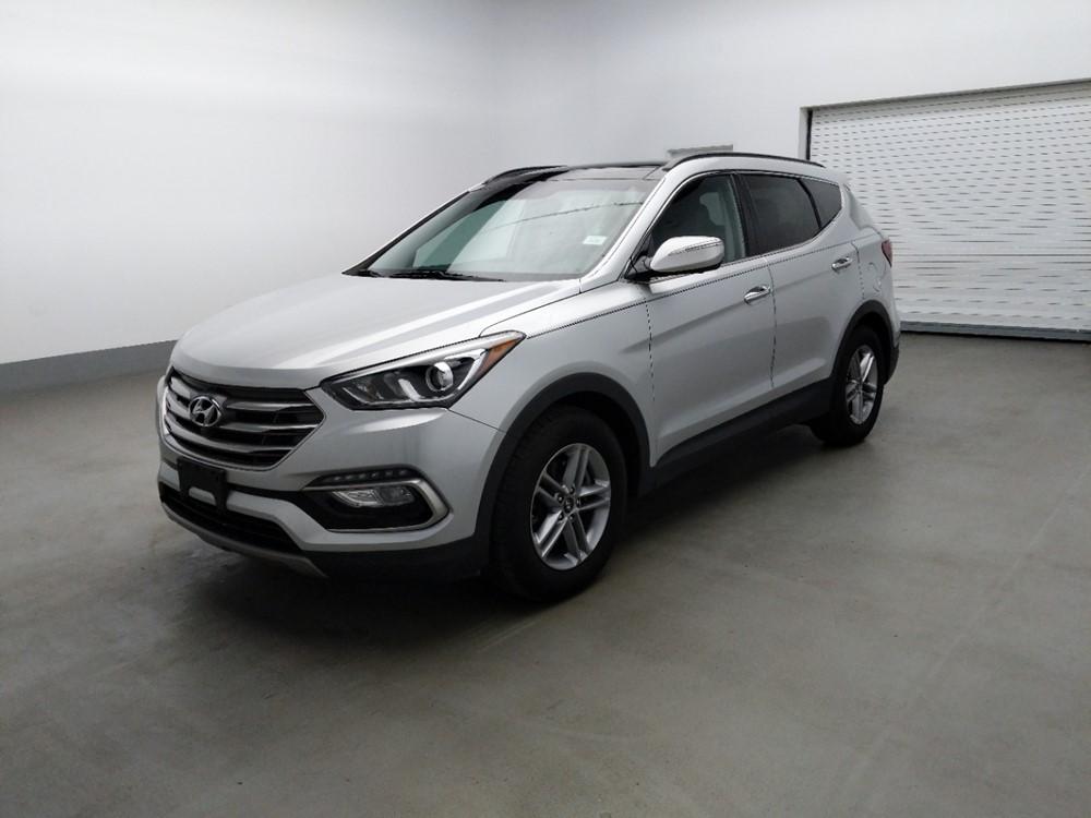 Used 2018 Hyundai Santa Fe Driver Front Bumper