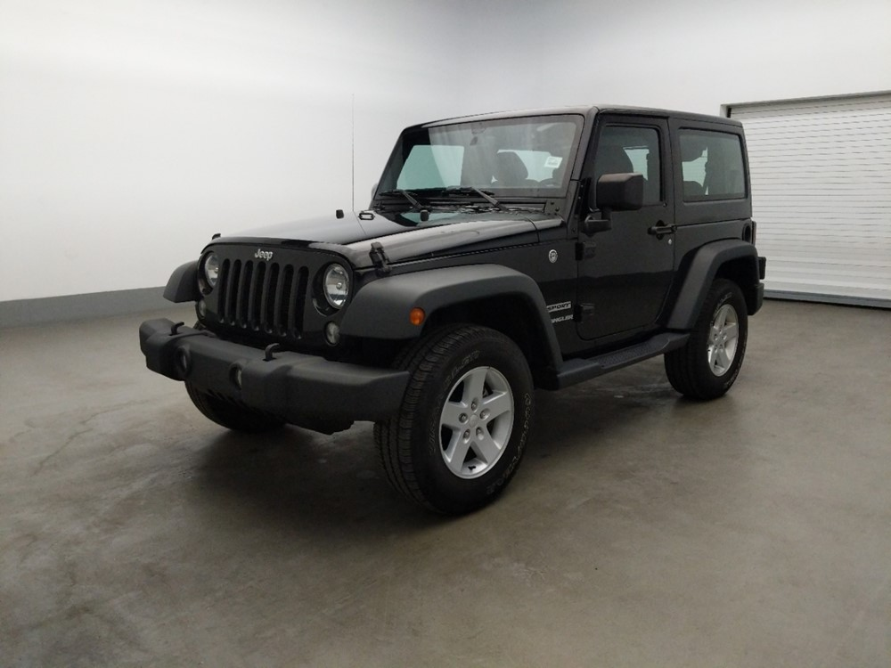 Used 2017 Jeep Wrangler Driver Front Bumper