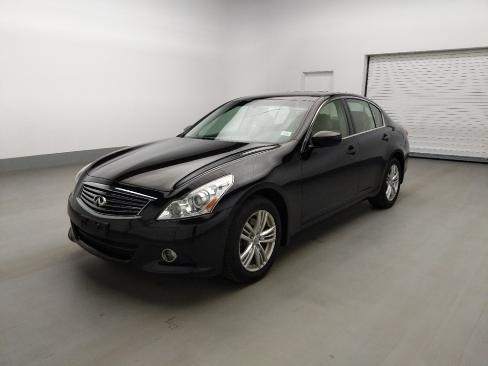 Used 2013 INFINITI G37 Driver Front Bumper