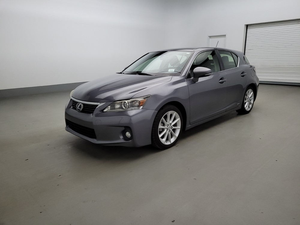 Used 2012 Lexus CT 200h Driver Front Bumper