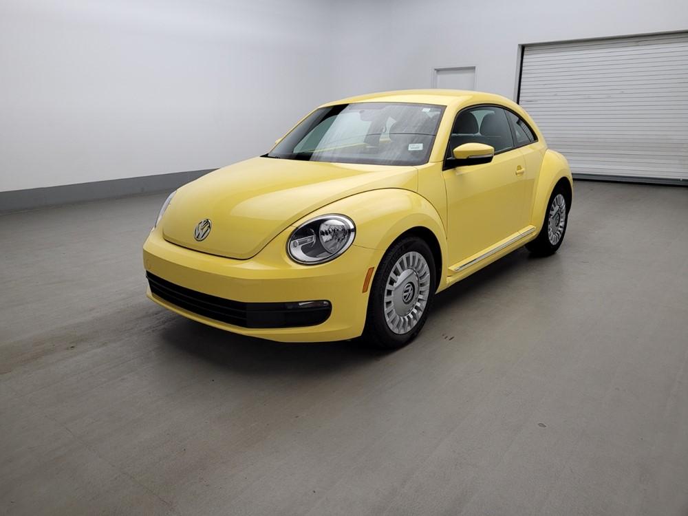 Used 2014 Volkswagen Beetle Driver Front Bumper