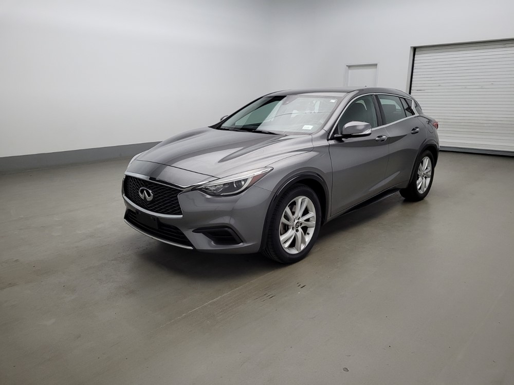 Used 2017 INFINITI Luxury Driver Front Bumper