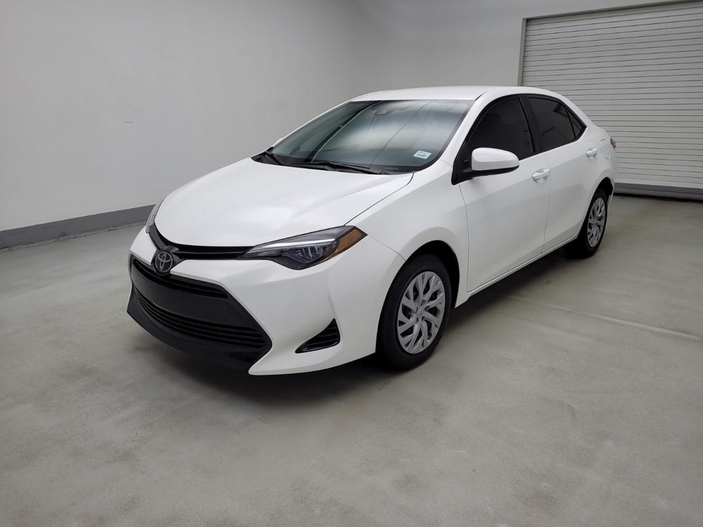 Used 2019 Toyota Corolla Driver Front Bumper