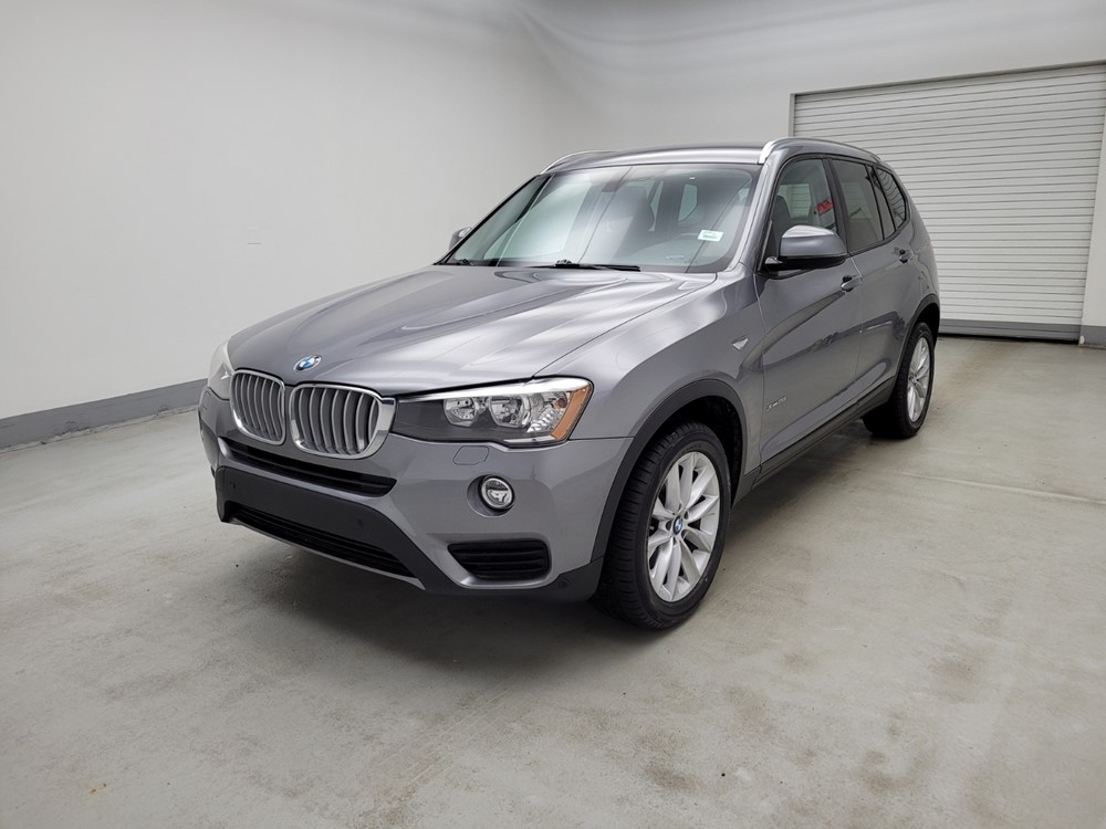 Used 2017 BMW X3 Driver Front Bumper