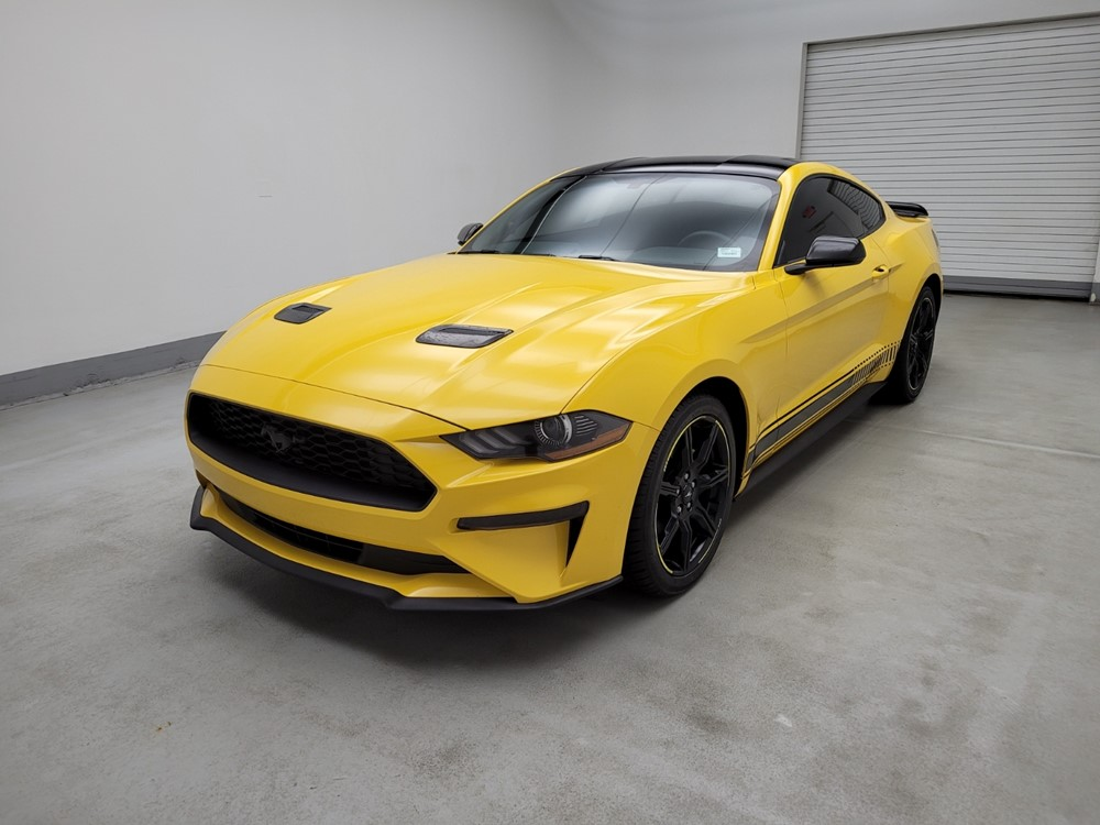 Used 2018 Ford Mustang Driver Front Bumper