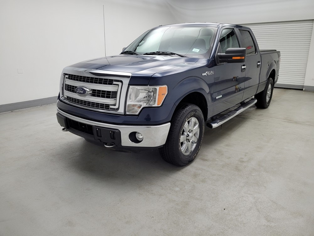 Used 2014 Ford F-150 Driver Front Bumper