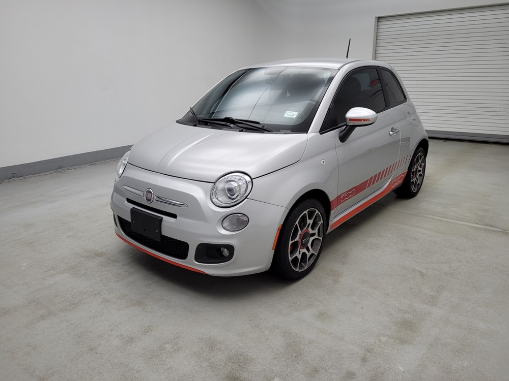 Used 2013 FIAT 500 Driver Front Bumper